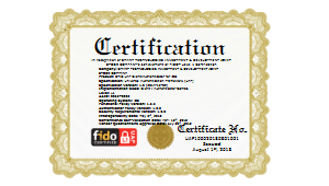 FIDO Ecosystem Approaches for STID with L1 (iOS) Certification
